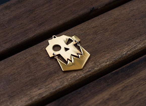 Golden Color Ork pendant