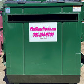 10YD - Roll Off Dumpster