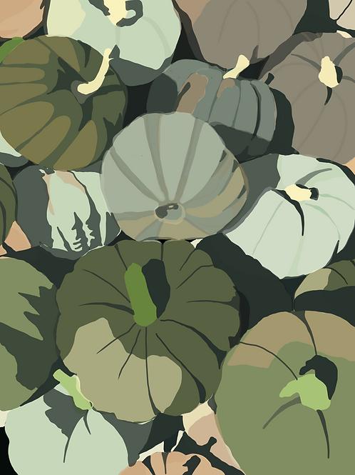 Green Pumpkin Patch