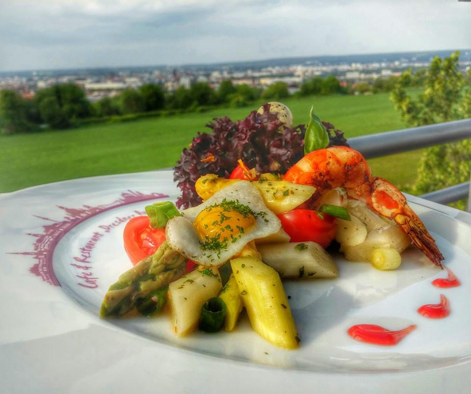 Was ist los in Dresden - Café & Restaurant Dresdner Aussicht - Preiswertes Mittagsangebot Woche ab 02.01.2018