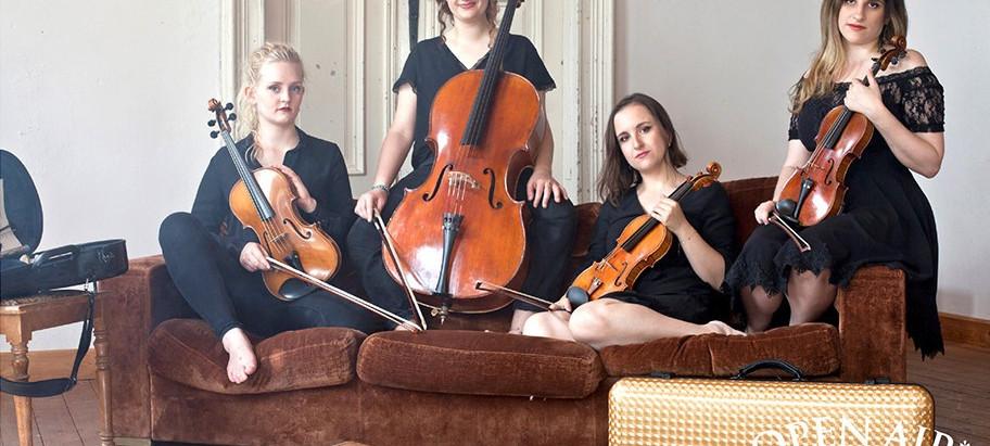 """Konzert mit """"mondëna quartet"""" im Schillergarten"""