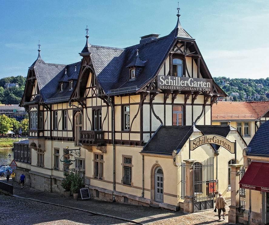 Lust auf Sachsen - Schillergarten Grosses Restaurant & Cafe