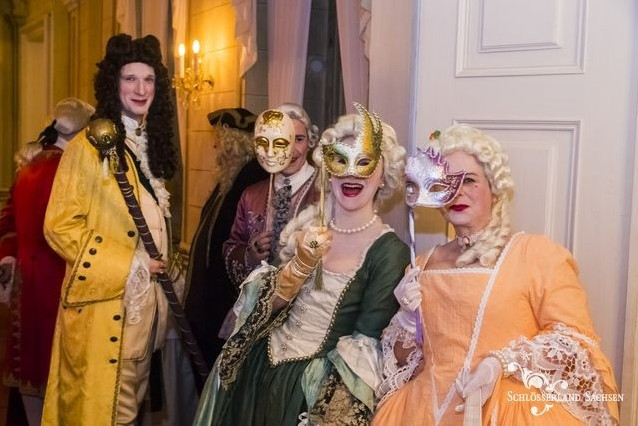 Lust auf Sachsen - Ballnacht im Barockschloss
