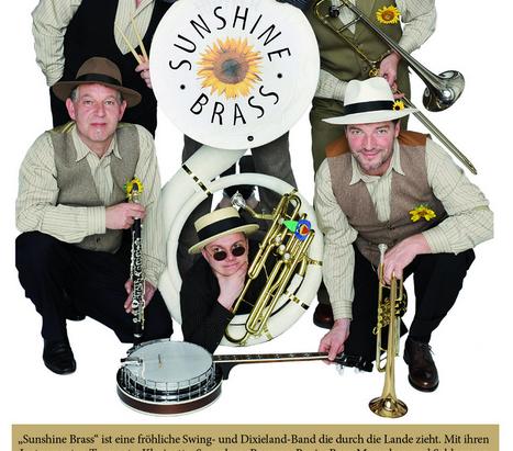 """Konzert mit  """"Sunshine Brass"""" im Schillergarten"""