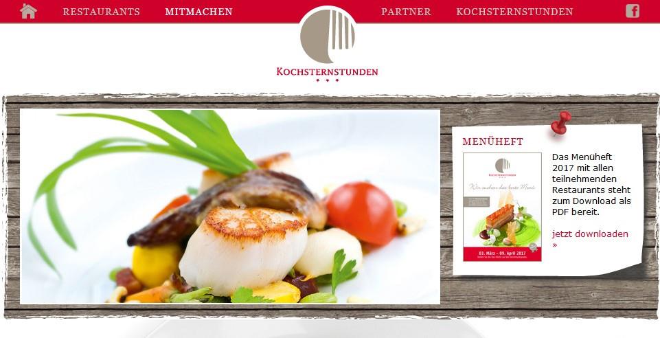 Lust auf Sachsen - Kochsternstunden