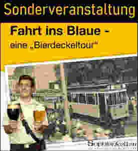 Was ist los in Dresden - Fahrt ins Blaue - eine Bierdeckeltour