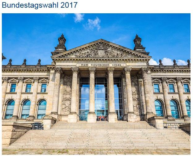 """""""DEHOGA-Wahlcheck"""" zur Bundestagswahl 2017"""