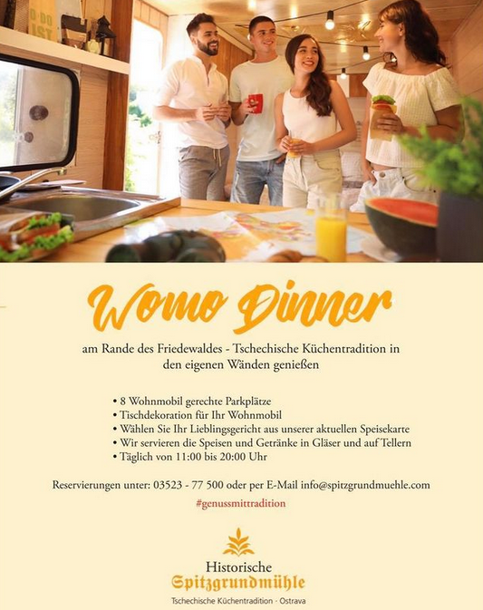 Was ist los in Dresden und Umgebung, Wohin in Dresden und Umgebung, Historische Spitzgrundmühle,Coswig,Tschechische Küche