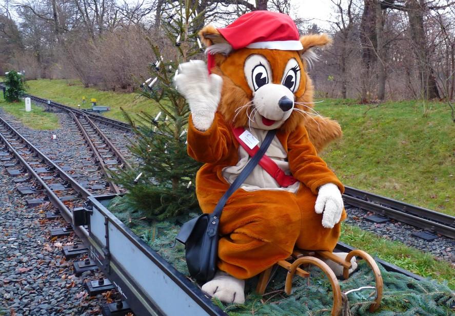 Was ist los in Dresden - Adventsfahrten bei der Dresdner Parkeisenbahn