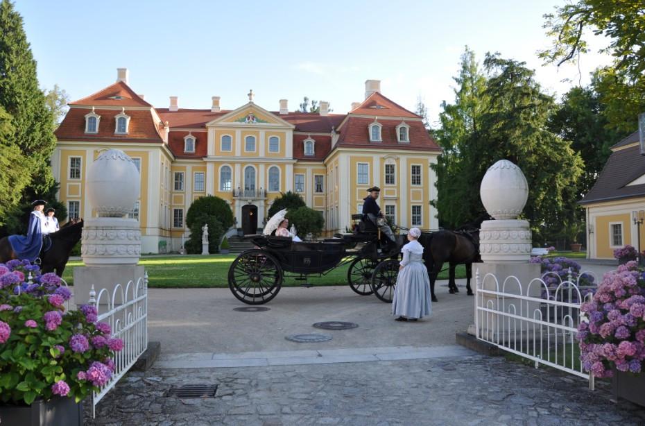 Was ist los in Dresden und Umgebung - 23. Internationale Oberlausitzer Leinentage am 25. & 26. August 2018 im Barockschloss Rammenau