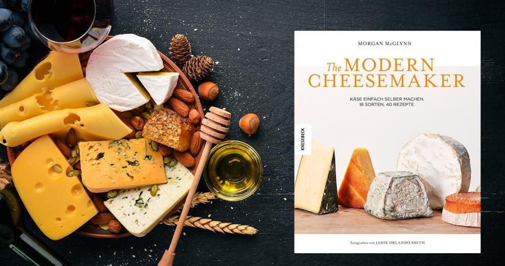 """Mit dem Käse-Buch """"The Modern Cheesemaker"""" kommen Käse-Liebhaber auf ihre kulinarischen Kosten. (Foto: ©Yaruniv-Studio/stock.adobe.com; Knesebeck GmbH & Co. Verlag KG)"""