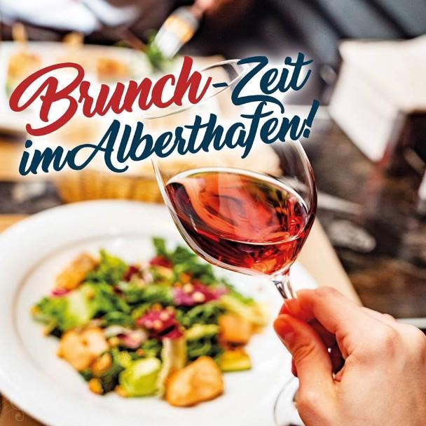 Brunch im Restaurant Alberthafen Dresden