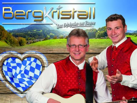 Weihnachten mit dem Erfolgsduo Bergkristall aus Bayern im Laußnitzer Hof am 02./ 03.12.2021