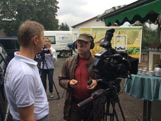 Dreharbeiten Topfgucker-TV