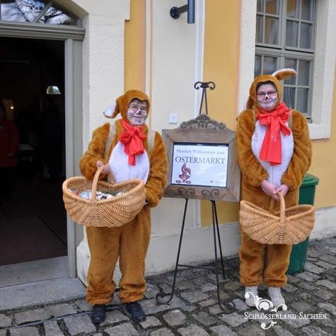 Lust auf Sachsen - Ostern im Barockschloss