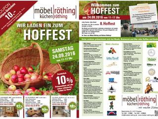 Hoffest bei Möbel Röthing am 24.09.2016