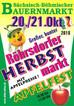 Sächsisch-Böhmischer Bauernmarkt - am21. und 22. Oktober ist Apfelmarkt