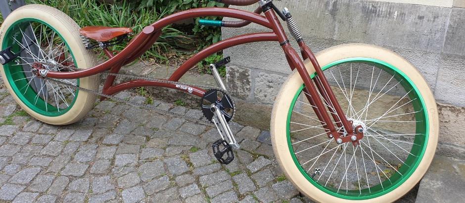 Mit dem ÖKO-Bike zum Stammtisch in den Schillergarten