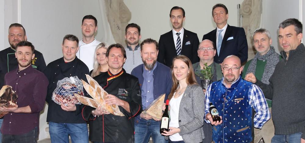 Lust auf Sachsen - Teilnehmer der Küchenparty