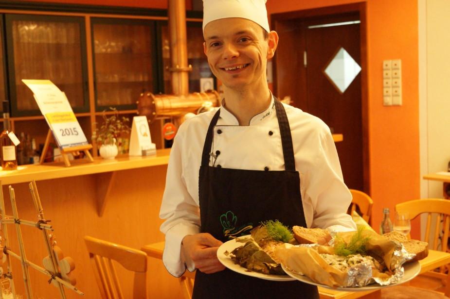 Ich freue mich mit Ihnen auf einen wunderbaren Kochabend. Ihr André Meyer Foto: © Redaktion Lust auf Dresden