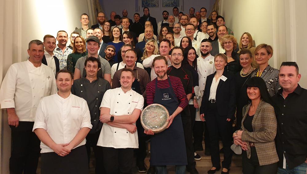 Küchenparty-alle Gastronomen und Winzer