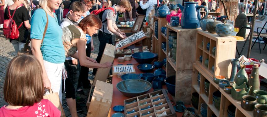 25. Dresdener Keramikmarkt lädt ein