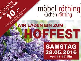 Hoffest am 28.05.2016