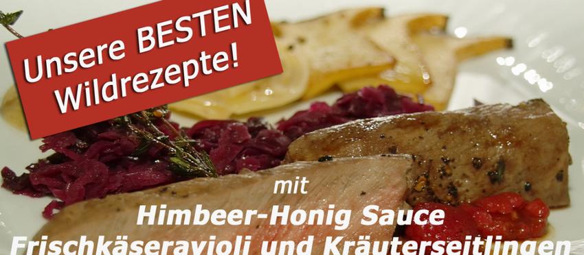 Topfgucker-TV empfiehlt - Unsere BESTEN Wildrezepte! Heute: Rehrücken