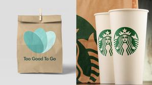 """Sind ab sofort Partner: Starbucks und die Initiative gegen Lebensmittelverschwendung """"Too Good To Go"""". (Foto: ©monticellllo/stock.adobe.com; too good to go)"""