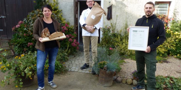 Oberlausitzer Landwirtschaftsbetrieb jetzt biozertifiziert – Eigenes Brot aus Kubschütz