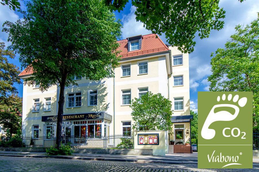 Lust auf Sachsen - CO2 – Fussabdruck im AKZENT Hotel PRIVAT – das Nichtraucherhotel Dresden