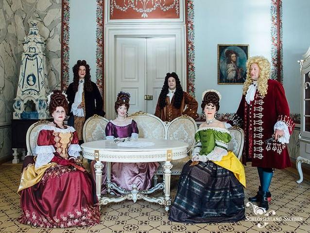 Lust auf Sachsen - Ein Abend bei Hofe im Schloss Rammenau