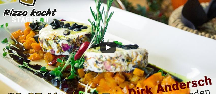 Rizzo kocht - Dreierlei mit Kürbis zu Gast: Dirk Andersch - Lust auf Dresden