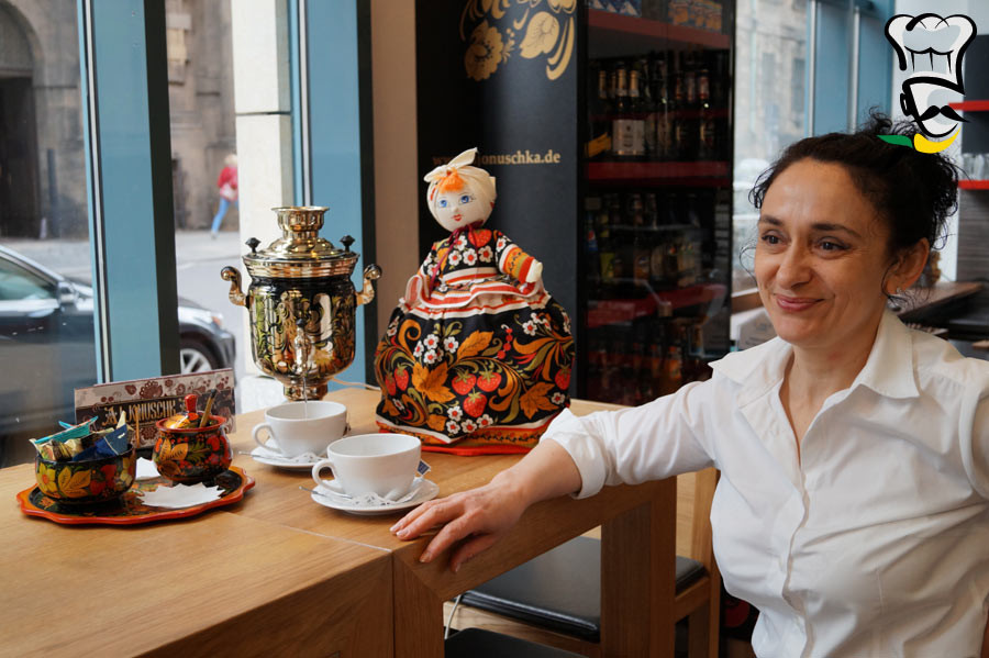 Lust auf Sachsen - Tatjana Olifirenko, Russische Spezialitäten