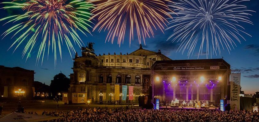 Was ist los in Dresden - CANALETTO - Das Dresdner Stadtfest vom 17. – 19. August 2018