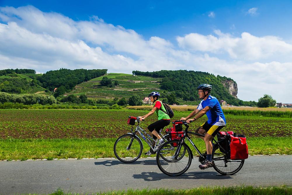 Lust auf Sachsen - Elberadweg in Meißen Foto Sylvio Dittrich