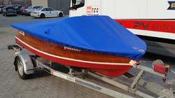 Abdeckplane für Boot