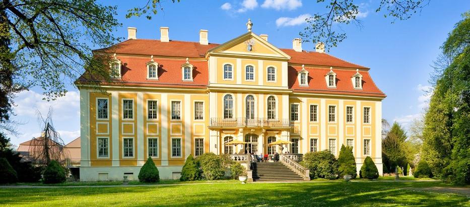 Goldener Herbst im Barockschloss Rammenau