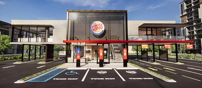 """Burger King präsentiert """"Restaurant der Zukunft"""""""