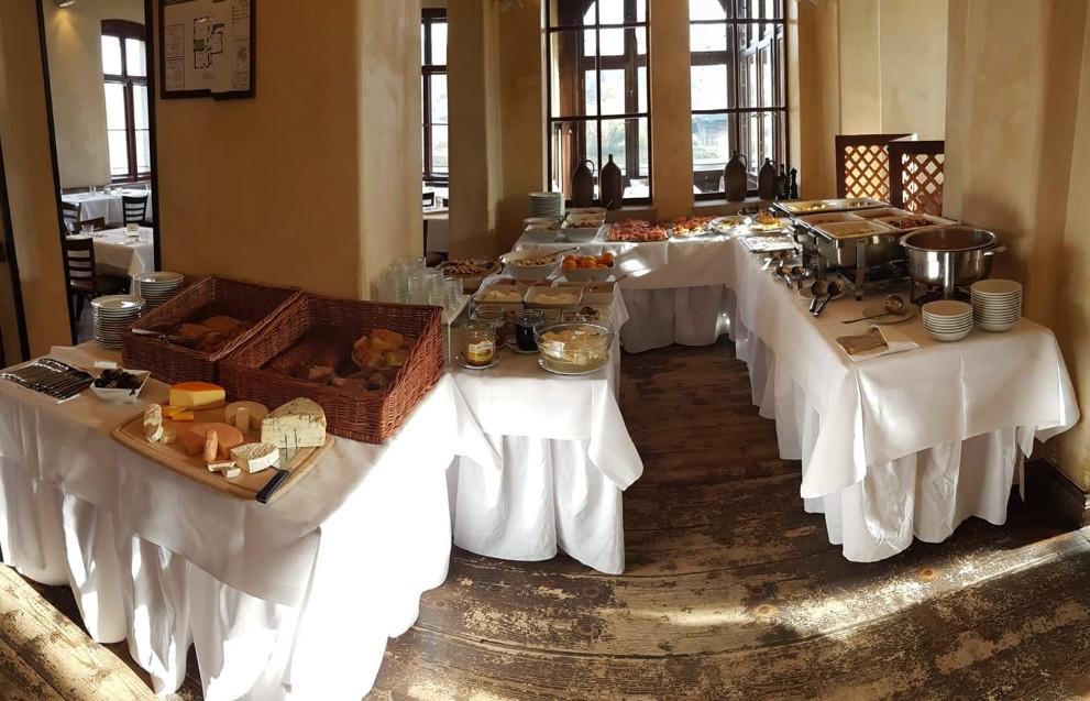 Restaurant Dresden - Sonntag's Brunch in der Villa Marie