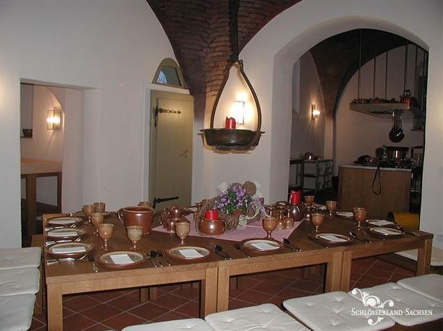Lust auf Sachsen - Kochabend in der Gesindeküche im Schloss Rammenau
