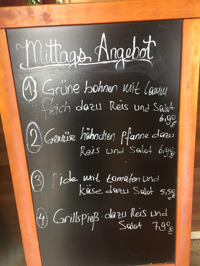 Restaurant Dresden - Ocakbasi, preiswertes Mittagsangebot Heute