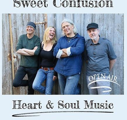 """Konzert mit  """"Sweet Confusion"""" im Schillergarten"""