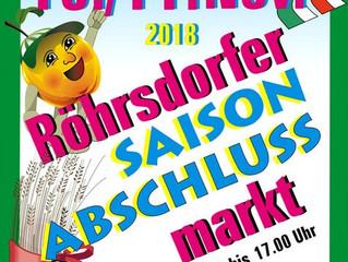 Sächsisch- Böhmischer Bauernmarkt am 10. und 11.11.2018