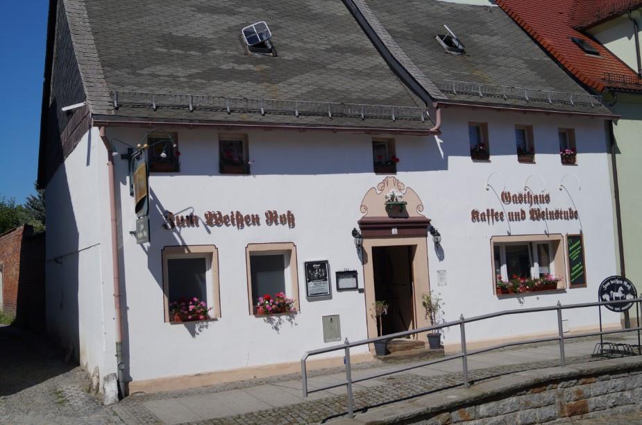 """Lust auf Sachsen - Gasthaus """"Zum weissen Ross"""" - Restaurant - Biergarten - Catering"""