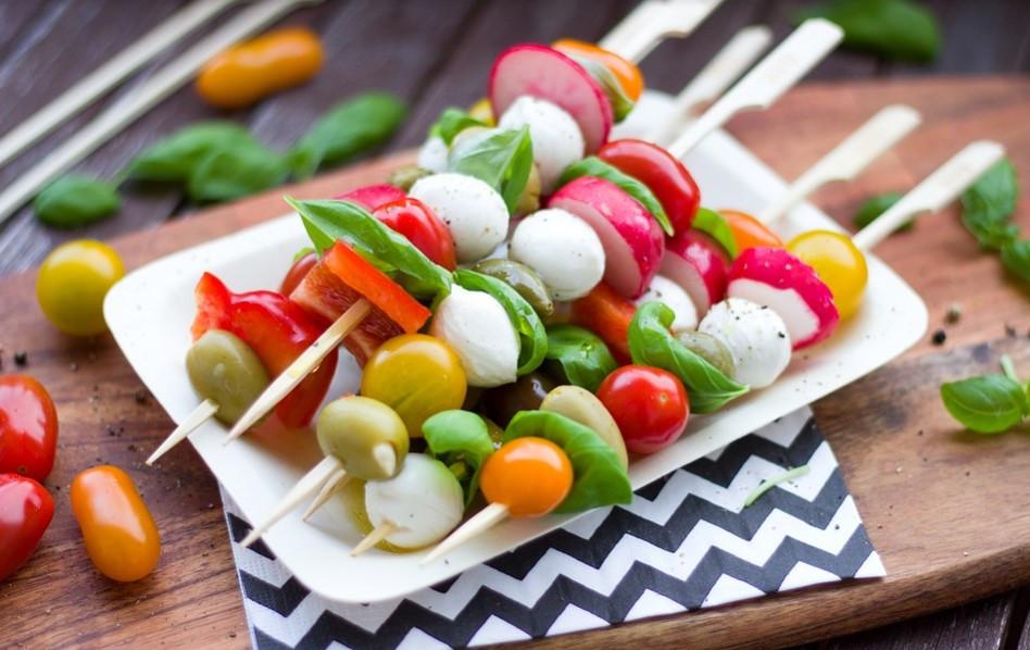 Kulinarisches Sachsen - Frisch, bunt und vielseitig: Grill-Gemüse darf auf keiner Sommerparty fehlen