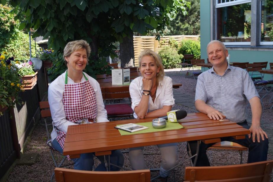 Lust auf Sachsen - Familie Walther im Gespräch mit Topfgucker-TV Moderatorin Christiane Weigel Andersch