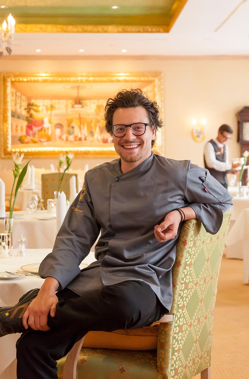 Benjamin Biedlingmaier will junge Genießer für die hohe Kochkunst  begeistern. Copyright: Klaus Lorke No Limit Fotodesign