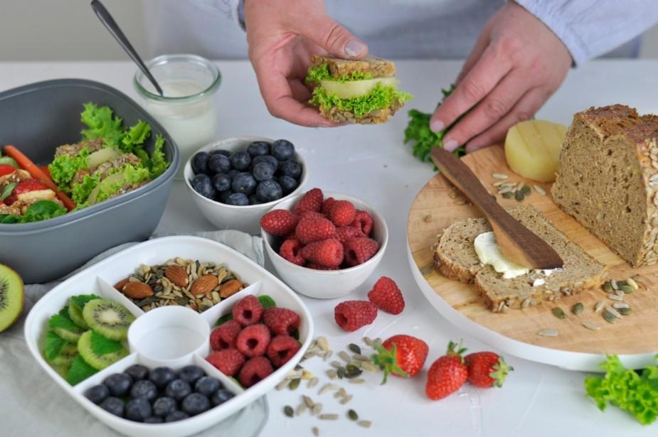 Die gesunde Mittagspause mit 60-30-10