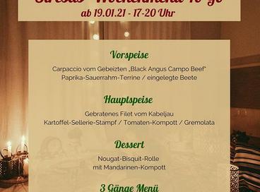Neues Wochenmenü im Restaurant stresa ab 19.02.2021
